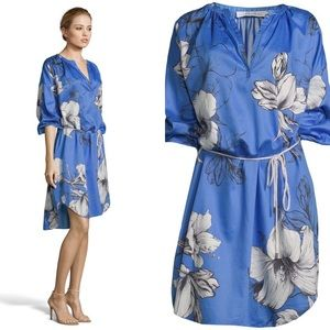 [Robert Graham] Darla Floral Satin Dress